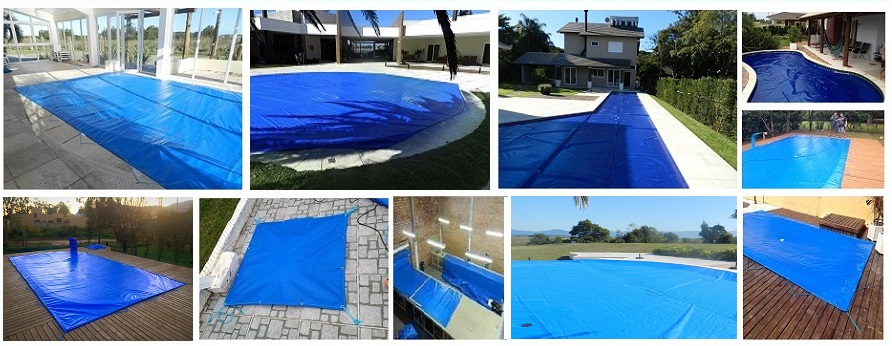 capas de piscinas